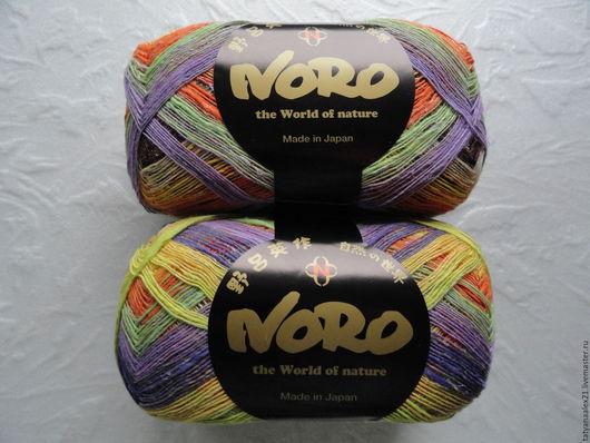 Вязание ручной работы. Ярмарка Мастеров - ручная работа. Купить Пряжа  Noro  Taiyo Lace № 01. Handmade.