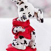 Куклы и игрушки ручной работы. Ярмарка Мастеров - ручная работа Собака долматинец Бим. Handmade.