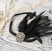 Tiaras handmade. Livemaster - original item Headband in Gatsby style. Handmade.