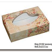 Фурнитура для кукол и игрушек ручной работы. Ярмарка Мастеров - ручная работа 0102 Коробочка для упаковки мыла размер 9х6.5х2.5 см. Handmade.