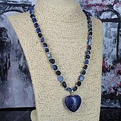 Украшения handmade. Livemaster - original item Necklace with a kyanite pendant