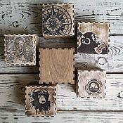 Для дома и интерьера handmade. Livemaster - original item The box is wooden (cover the bottom). Handmade.