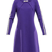 Платья ручной работы. Ярмарка Мастеров - ручная работа Платья: фиолетовое. Handmade.