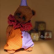 Куклы и игрушки ручной работы. Ярмарка Мастеров - ручная работа Мишка тедди Тим. Маленький клоун. Handmade.