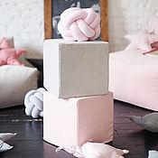 Для дома и интерьера ручной работы. Ярмарка Мастеров - ручная работа Пуф Кубик. Handmade.