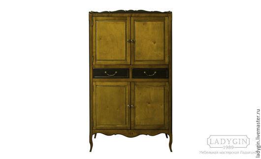 Мебель ручной работы. Ярмарка Мастеров - ручная работа. Купить Деревянный низкий шкаф с 2 ящиками в стиле прованс. Handmade.
