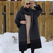 Одежда handmade. Livemaster - original item Coat Cold wind half-wool handmade. Handmade.