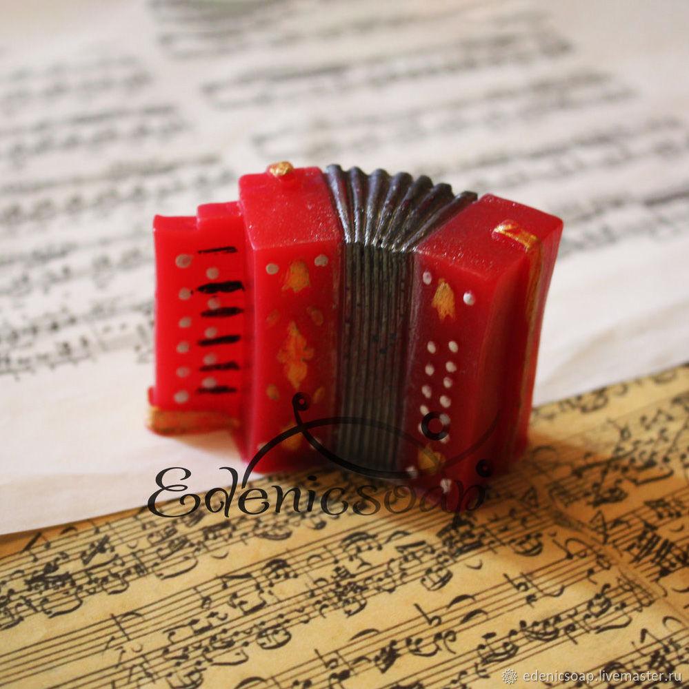 Soaps handmade. Livemaster - handmade. Buy 'Bayan' soap handmade gift music souvenir sheet music.Russian souvenir