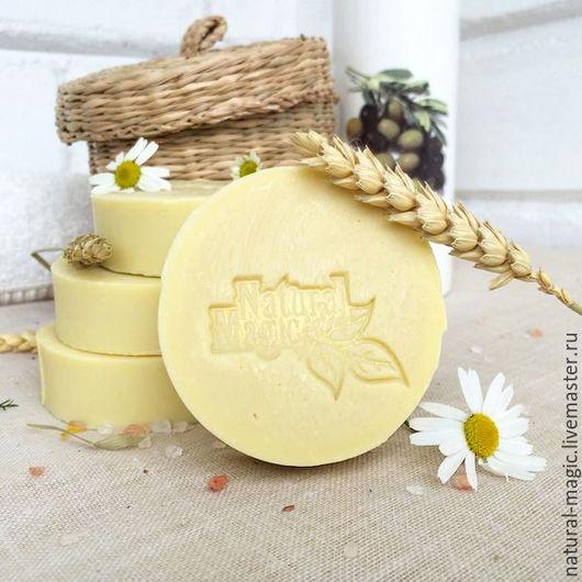 Мыло ручной работы. Ярмарка Мастеров - ручная работа. Купить Солнечная кастилья натуральное детское оливковое мыло с нуля подарок. Handmade.