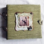 Канцелярские товары ручной работы. Ярмарка Мастеров - ручная работа Фотоальбом винтаж. Handmade.