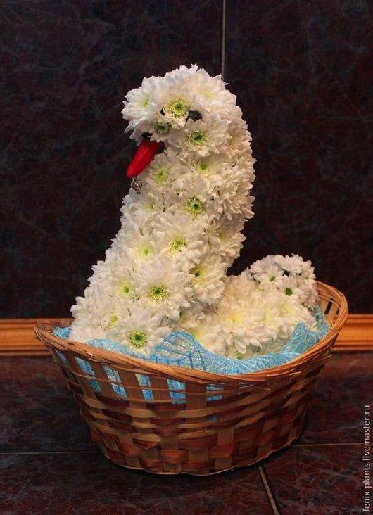 Букеты ручной работы. Ярмарка Мастеров - ручная работа. Купить Лебедь. Handmade. Комбинированный, лебеди, лебедь, лебедушка, свадьба, букет