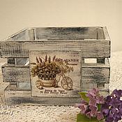 Для дома и интерьера ручной работы. Ярмарка Мастеров - ручная работа Короб многофункциональный в стиле Прованс. Handmade.