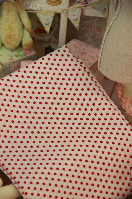 Куклы и игрушки ручной работы. Ярмарка Мастеров - ручная работа. Купить Ткань хлопок №160 с мелким рисунком. Handmade. Комбинированный