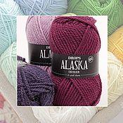 Материалы для творчества ручной работы. Ярмарка Мастеров - ручная работа Пряжа Alaska Uni/Alaska Mix, Grops (Аляска от Дропс). Handmade.