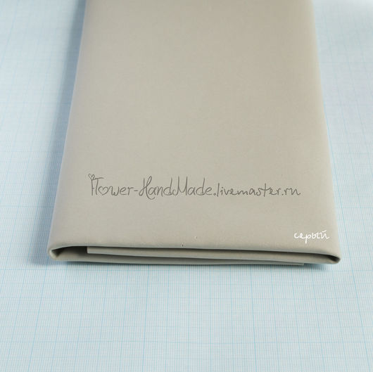 Фоамиран ручной работы. Ярмарка Мастеров - ручная работа. Купить ФК034 Фоамиран (фом)  серый корейский 0,8 мм. Handmade.
