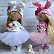 Мягкие игрушки ручной работы. Ярмарка Мастеров - ручная работа Интерьерная куколка. Handmade.