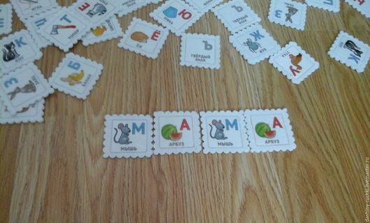 """Развивающие игрушки ручной работы. Ярмарка Мастеров - ручная работа. Купить Мемори """"Алфавит"""" из фетра. Handmade. Мемори, подарок ребенку"""
