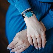 Украшения handmade. Livemaster - original item Black bracelet with agate regalis female. Handmade.
