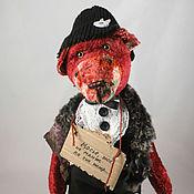 """Куклы и игрушки ручной работы. Ярмарка Мастеров - ручная работа Медведь тэдди  """" Мосье..."""". Handmade."""