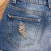 Одежда handmade. Livemaster - original item Stripe
