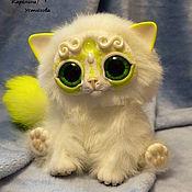 Куклы и игрушки ручной работы. Ярмарка Мастеров - ручная работа Королевский волшебный кот породы : Мирис. Лимонный. Handmade.