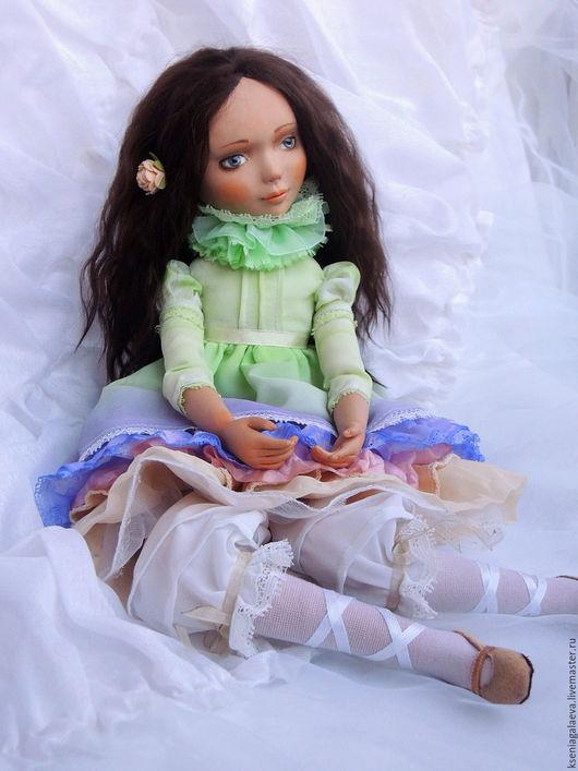 Коллекционные куклы ручной работы. Ярмарка Мастеров - ручная работа. Купить Лиза. Будуарная кукла.. Handmade. Бежевый
