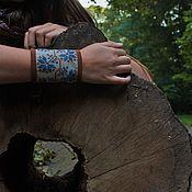 Украшения ручной работы. Ярмарка Мастеров - ручная работа Цветами вокруг руки. Handmade.