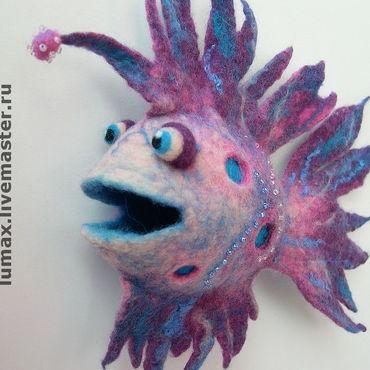 Куклы и игрушки ручной работы. Ярмарка Мастеров - ручная работа Рыба-Северюга. Handmade.