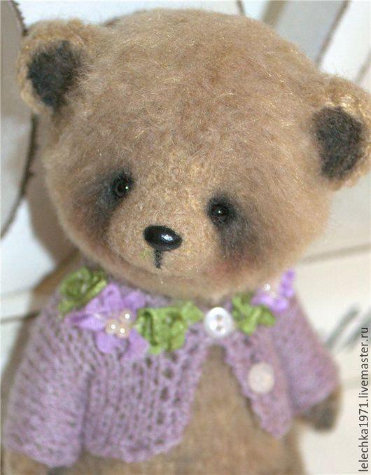 Мишки Тедди ручной работы. Ярмарка Мастеров - ручная работа. Купить Yvetta. Handmade. Бежевый, фактурная пряжа