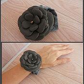 Украшения ручной работы. Ярмарка Мастеров - ручная работа Резинка-цветок для волос. Handmade.