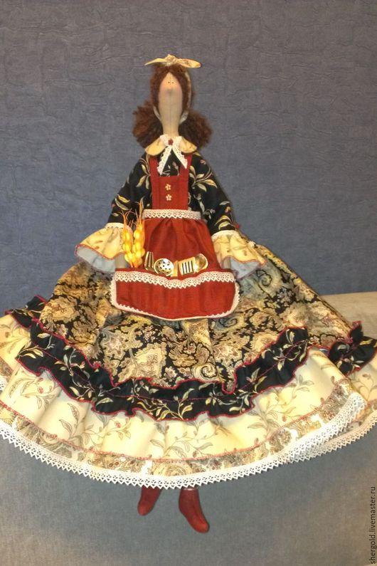 Куклы Тильды ручной работы. Ярмарка Мастеров - ручная работа. Купить Хозяюшка- интерьерная кукла Тильда. Handmade. Комбинированный, подарок