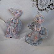 Сувениры и подарки ручной работы. Ярмарка Мастеров - ручная работа ангелочек-колокольчик. Handmade.