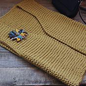 Одежда ручной работы. Ярмарка Мастеров - ручная работа Вязаный жилет Mustard. Handmade.