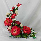 Для дома и интерьера handmade. Livemaster - original item Flower arrangement-light