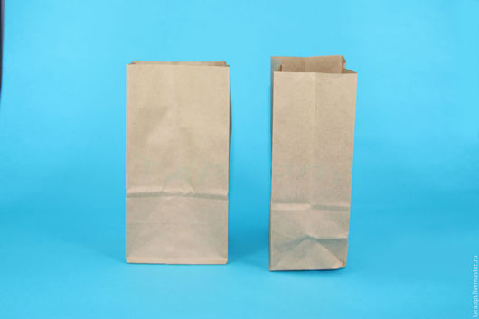 Упаковка ручной работы. Ярмарка Мастеров - ручная работа. Купить Крафт пакет малый 9 х 17 х 6.5. Handmade.