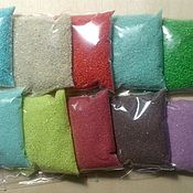 Материалы для творчества handmade. Livemaster - original item Sand color set 10 color.. Handmade.