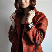 """Одежда ручной работы. Ярмарка Мастеров - ручная работа Пальто """"Красная осень"""". Handmade."""
