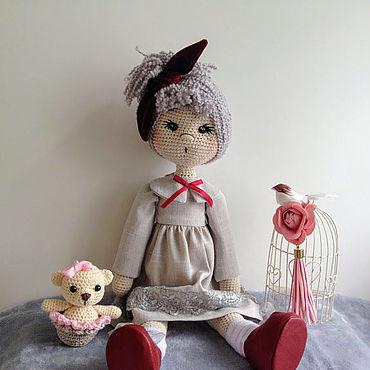 Куклы и игрушки ручной работы. Ярмарка Мастеров - ручная работа Куклы: кукла Алиса. Handmade.