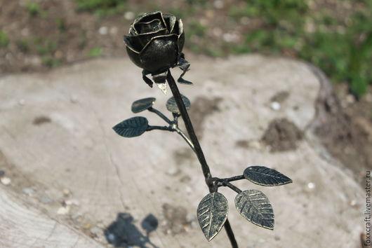 Цветы ручной работы. Ярмарка Мастеров - ручная работа. Купить Кованая роза. Handmade. Кованый цветок, кованые изделия