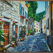 Картины и панно ручной работы. Ярмарка Мастеров - ручная работа картины городской пейзаж. Handmade.