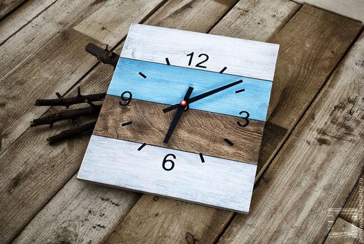 Часы для дома ручной работы. Ярмарка Мастеров - ручная работа. Купить Часы настенные. Handmade. Комбинированный, пермь, часы настенные