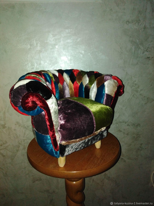 кресло 3D, Мебель для кукол, Самара,  Фото №1