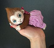 Куклы и игрушки ручной работы. Ярмарка Мастеров - ручная работа Малыш обезьян). Handmade.