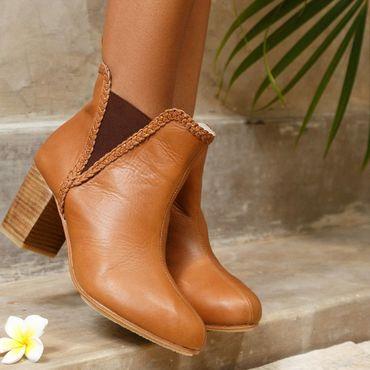Обувь ручной работы. Ярмарка Мастеров - ручная работа El Paso. Стильные кожаные сапожки челси. Handmade.