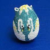 """Подарки к праздникам ручной работы. Ярмарка Мастеров - ручная работа сувенирное яйцо """"Лебедушки"""". Handmade."""