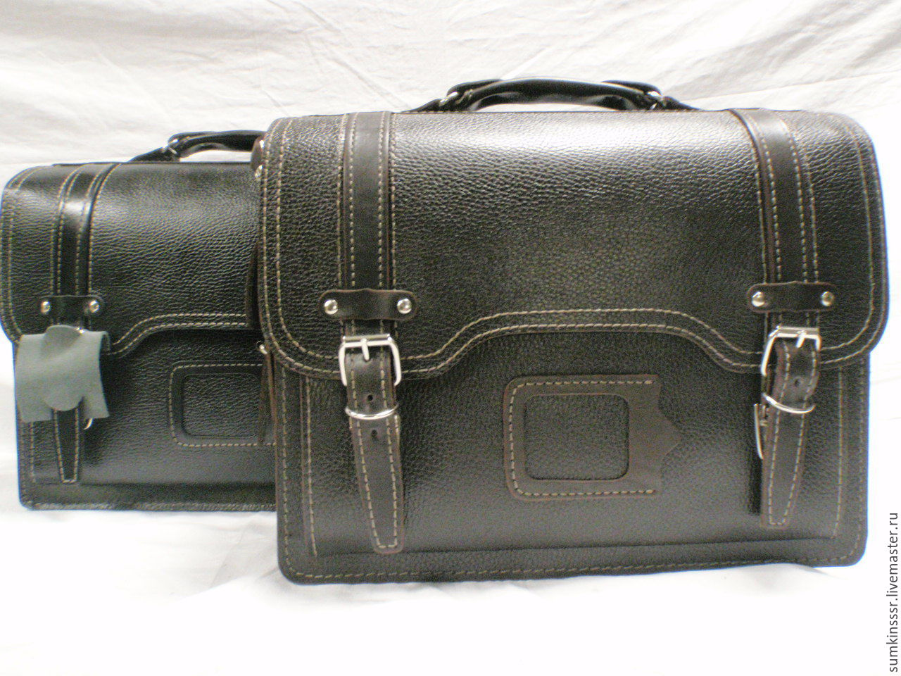 51def390 Мужские сумки ручной работы. Ярмарка Мастеров - ручная работа. Купить  Кожаная мужская сумка- ...
