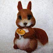 """Куклы и игрушки ручной работы. Ярмарка Мастеров - ручная работа """"Азара"""" белочка. Handmade."""