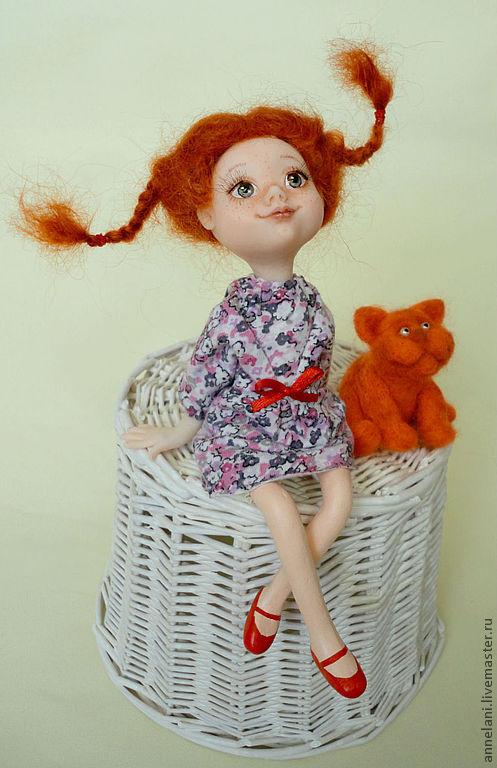 Коллекционные куклы ручной работы. Ярмарка Мастеров - ручная работа. Купить И пусть, весь мир подождет.... Handmade. Рыжий