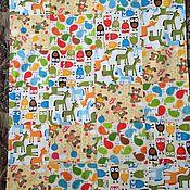 """Работы для детей, ручной работы. Ярмарка Мастеров - ручная работа Летнее одеяло """"Зоопарк"""". Handmade."""