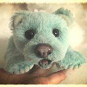Куклы и игрушки ручной работы. Ярмарка Мастеров - ручная работа Мятный мишка. Handmade.